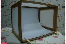 Mini studio caseiro