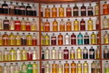 Natural homemade perfumes