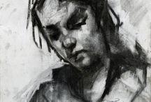 portretter kunst og håndverk