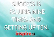 "Quotes About Success / Success…everyone wants it, but most of us really have no idea how to achieve it. In fact, do we even really know what ""success"" means? We all need some inspiration from time to time and that is why we have compiled some Quotes about Success that will help contribute to your success. See more at http://inspire.ph/"