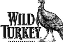 Wild Turkey Bourbon illustrated by Steven Noble