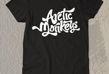 Arctic Monkey Art t-Shirt