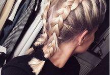Lob hairstyle
