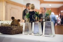"""BIO HOTELS sind eco hotels certified (ehc) / 2014 wurden erstmals vom Verein BIO HOTELS und Eco Hotels Certified die """"saubersten"""" unter den Mitglieder-Hotels ausgezeichnet. Für nachhaltiges Wirtschaften, den geringsten CO2-Ausstoß pro Gast sowie die kreativste Idee für mehr Umweltschutz wurden Preise verliehen"""