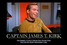 Capt. Kirk / by Linda
