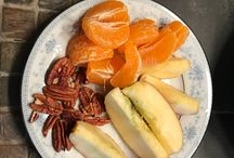 Healthy Snack Ideas / We get a lot of questions about healthy snack ideas.  Here's a few options