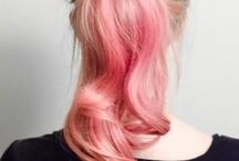 Hair - dip dye