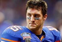 Tim Tebow / by Janet Mackley