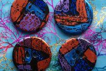Buttons by McAnaraks - handmade resin buttons / Handmade buttons made in the Highlands of Scotland. https://www.etsy.com/uk/shop/ButtonsByMcAnaraks www.mcanaraks.com