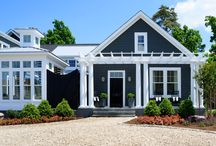 Outside Home Design / by Greenwich Girl ™ - Laura McKittrick