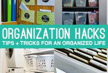 Organization is Key / Some simple things you can do to become more organized
