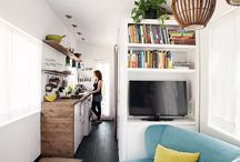 small space / small space, Little, Apartment, loft, petite, klein, Wohnung, tiny house,  / by Claudia Sarrazin