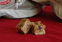 homemade energy snacks / wholesome bars, blocks, and snacks for those long days in the saddle