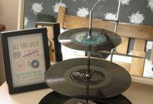 Vinyls objets...