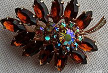 Brooches / I love old brooches, although I rarely wear one. My mother, grandmother and some aunts loved them as well. I have several of their brooches amongst my collection. See some here at barbara-griffin.artistwebsites.com