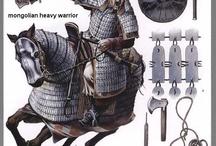 Воины монголы калмыки