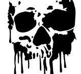 Skulls and stencils