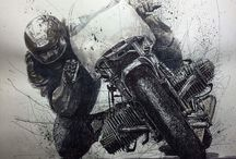 Moto drawings