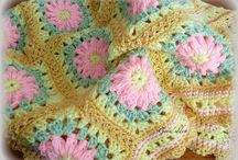 WITH FLOWERS BLANKETS 1