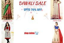 Diwali Collections 2015 / Get the Best Diwali Indian Ethnic dresess for women