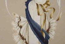 angels.... cross stitch