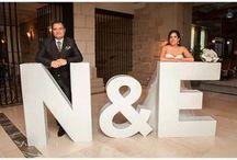 hacer letras boda