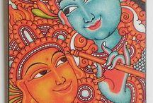 Mural p / Kerala