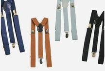 SUSPENSÓRIOS | SUSPENDER / A Maior Variedade de suspensórios você encontra na Chapéu & Estilo. Lindos modelos para fazer looks Impressionantes.
