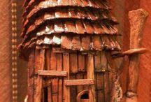 Inspiration - Fairy Houses