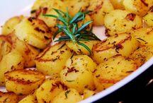 cesnakove pecene zemiaky