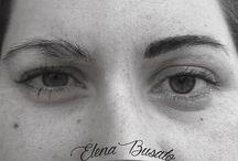 Elena Busato Permanent Make-Up Artist / Elena, giovane e forte sia caratterialmente che emotivamente, lascia trapelare poco a chi non conosce, se si riesce a scalfire la sua corazza… si ha la fortuna di conoscere un carattere deciso ma sensibile, forte ma altruista…le sue clienti la amano per la sua tenacia... Impegna anima e corpo in tutti i suoi lavori... e i risultati le danno ragione.  Elena Busato  Permanent Make Up Artis, Guest Artist