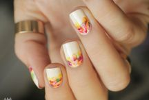 Autumn Nail Arts