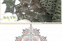Chal crochet shawl