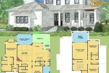 Farmhouse Floorplans
