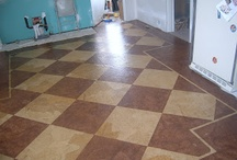 PAPER FLOORS AND MORE / by Sharon Lash