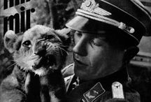 nazi soldiers with small animals