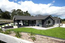 Customer Home - Rodney, Auckland / Greer and Brett love their new home. It was their first build, and they not only finished on budget, but ahead of time.