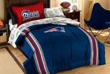 Are you ready for some football? / Whether you are an NFL or NCAA fan, we have the products to fill your bedroom or mancave! Check them out at http://www.bedding.com/sports-bedding.html.