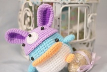Crochet - Amigurumi / Crocheted animals, cute stuff... (free patterns)