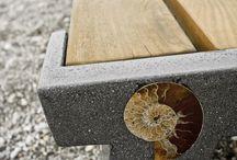 concrete/ wood / metal / by Mermaid