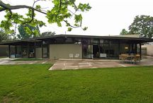 Mid-Century Mod Exteriors / Mod-Century Modern Home and Building Exteriors / by Modwalls Tile