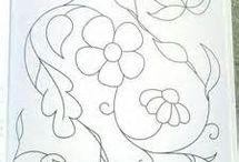 patrones bordados