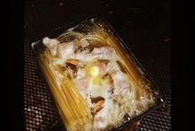 ネットに載っていた茹でずにいきなり作る簡単パスタ。時短にはなりますが、ちゃんと作った方が全然美味しいです。 I cooked boil-less pasta that I referred website. I heard Italian's scream. #cooking #cornercutting #pasta #手抜きパスタ #パスタ #自炊写真