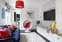 Guest bedroom and playroom idea