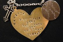 My stamped creations / Handmade jewelry that I personalize for you!  / by Jamie Hubbard
