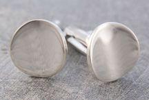 Classic cufflinks / #cufflinks #mensjewellery #otisjaxon #mensfashion #silverjewelry