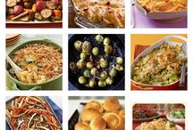 Thanksgiving dinner ideas! / by Ashley Beard
