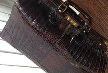 Gladstone / Gorgeous #gladstone #crocodile #bag #luisavintage