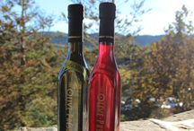 Cranberry Balsamic, perfect for the Holidays! / Stock your pantry for the holidays or send this colorful balsamic as a holiday gift! Jazz up any Fall meal! Add an olive oil to create a flavorful gift combination. Enjoy this sparkling balsamic on traditional salad greens or experiment--sautéd chicken breasts in a cranberry balsamic glaze with pine nuts. Roasted vegetables tossed in olive oil and cranberry balsamic with dried apricots, roasted pecans and crumbled goat cheese. Enjoy! / by The Olive Press