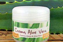 Creme e Cosmetici all'Aloe / Creme, shampo e altri prodotti per la cura del corpo a base di Aloe Arborescens o di Aloe Vera.